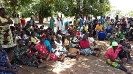 Beneficiaries sensitization on the use of the items._1